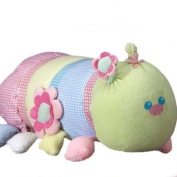 Caterpillar New Baby Girl Gift Set - Includes Hooded Towel, Receiving Blanket, Socks, Toys and More! - Unique Gift Idea for Newborns