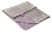 Magnolia Line Minky Baby Blanket Lux Grey