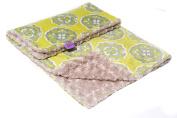 Magnolia Line Minky Baby Blanket Plush Citron