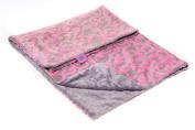 Magnolia Line Minky Baby Blanket Cuddle Pink