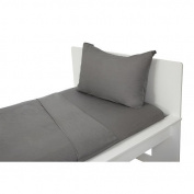 Argington Bedding Set, Solid Grey