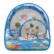 Baby Cie Farm Animals Backpack Lunch Set