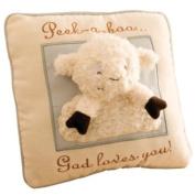 Really Woolly Peek-A-Boo Lamb Pillow