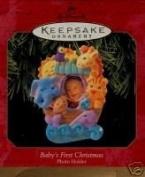 Hallmark Keepsake Ornament Baby's First Christmas Photo Holder