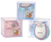 Allstar Baby's First Standard Sized Baseball - Pink