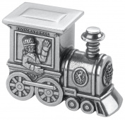 Danforth Train Pewter Toothfairy Box