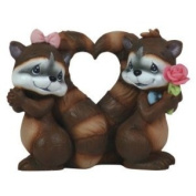 113203 - Racoons You Stole My Heart Figurine - Precious Moments