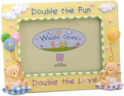 Double the Fun Widdle Ones by Russ Berrie - 4x6