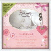 Heartfelt Pink Baby Girl Keepsake 10x10 Photo Frame General Sentiments