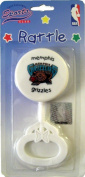 NBA Basketball Memphis Grizzles Baby Rattle