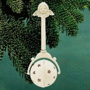 Department 56 Snowbabies Baby's First Rattle Ornament 68828