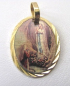 Blessed By Pope Benedetto XVI Our Lady of Lourdes Medal