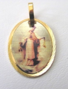 Blessed By Pope Benedetto XVI Our Lady of Mercy Gold Overlay Medal - Las Mercedes Medalla Enchapada En Oro