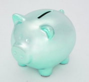 Mini Ceramic Piggy Bank - Ganz Blue Piggy Bank