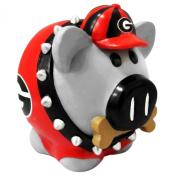 NCAA Georgia Bulldogs Resin Large Thematic Piggy Bank