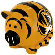 NCAA Missouri Tigers Resin Large Thematic Piggy Bank
