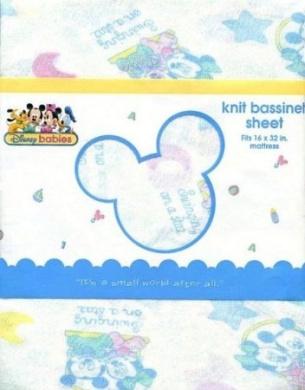 Disney Babies Knit Bassinet Sheet