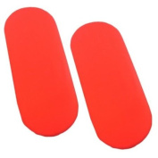 Pack of 2 Fitted Cotton Moses Basket Sheets - 2 Red