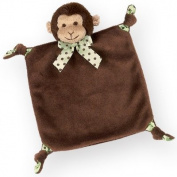 Plush Monkey Baby Blankie - Bearington Wee Giggles