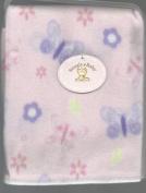 SNUGLY BABY FLEECE BABY BLANKET SOFT PINK