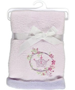 Disney Fairy Tale Dreams Embroidered Boa Baby Blanket