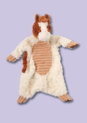 Cream and Brown Horse Sshlumpie 40.6cm by Douglas Cuddle Toys
