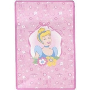 Disney Princess Plush Coral Fleece Toddler Blanket