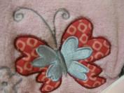 Little Beginnings Baby Girl Butterfly Blanket