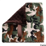 BB Emerald Soft Pacifier Baby Blanket - Camo
