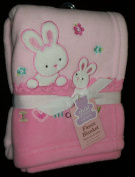 Carters Pink Fleece Blanket I Love Mommy