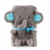 Mud Pie Baby Blanket - Elephant
