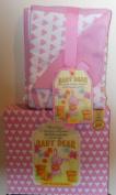 Baby Dear Pink Receiving Blanket
