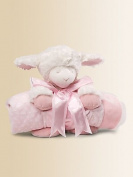 Gund Baby Blanket Set, Winky Lamb Pink