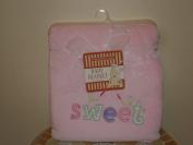 Sweet Plush Pink Baby Girl Blanket