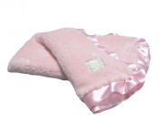 Pickles Cloud Baby Blanket, Pink