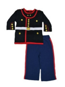 5850 2pc Marine Corps Boys Dress Blues Uniform Top and Pant SIZE