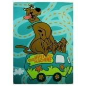 Scooby Doo Twin Blanket 152.4cm X 203.2cm Raschel Plush Throw