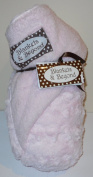 Blankets and Beyond Pink Swirl Baby Blanket