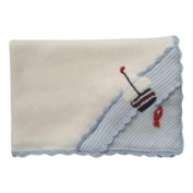 Powell Craft Hand Knitted Boat Pram Blanket [Baby Product]