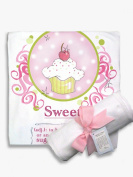 Light of Mine Designs Definition-Sweet Receiving/Swaddling Blanket