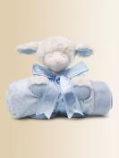 Gund Baby Blanket Set,Winky Lamb Blue