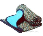 Zutano Haribo-solid Pool Cotton Blanket