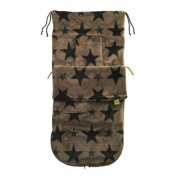 NEW! Fur Fabric Buggysnuggle - Stars Fur in French Beige [Baby Product]