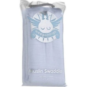 OiOi Baby Bags 239 Muslin Swaddle- Baby Blue
