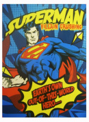 Superman Blanket - Twin Size Superman Throw Blanket - Earth Own