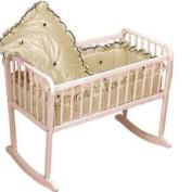 Prima Donna Cradle Bedding- Colour Ecru - Size 15x33