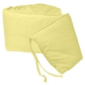 Tailored Baby Cradle Bumpers - Colour Yellow - Size 15x33