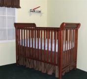 53.3cm long Gathered Cribskirt extra long Crib Dust Ruffle Colour