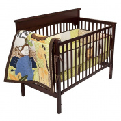Tiddliwinks Safari Friends 3pc Baby Bedding Set - Green/Brown