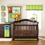 Zoo Zoo 4 Piece Baby Crib Bedding Set by Too Good by Jenny